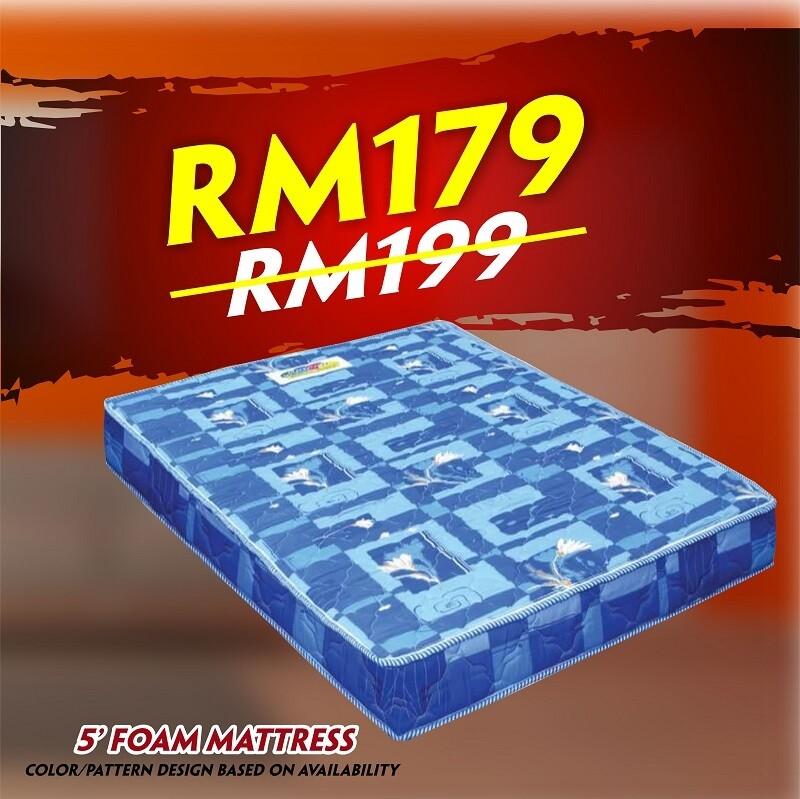 [FREE DELIVERY] Foam Mattress- Double size