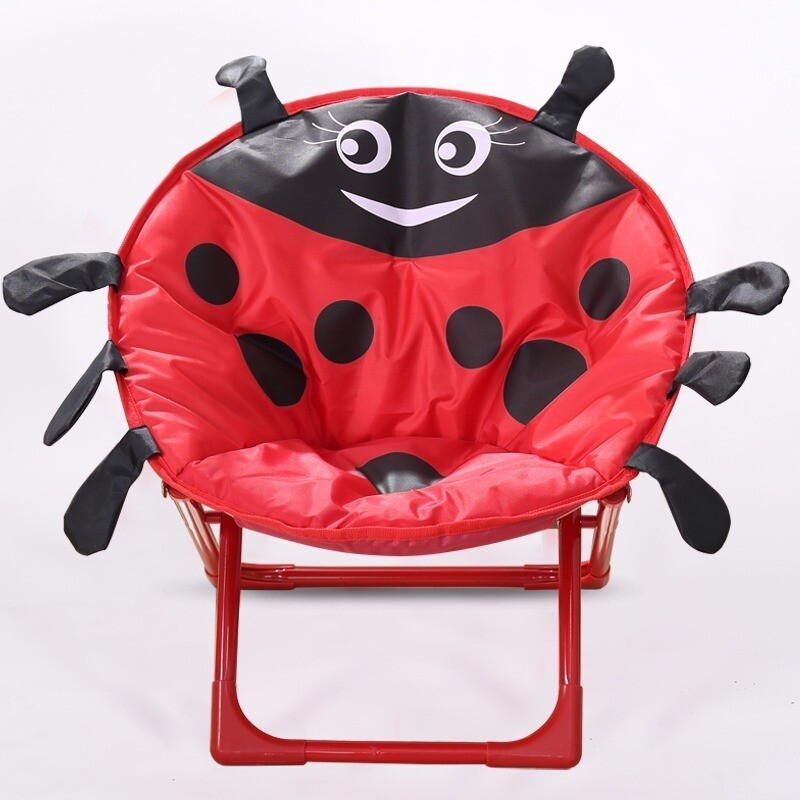 Children cartoon moon chair - Ladybird