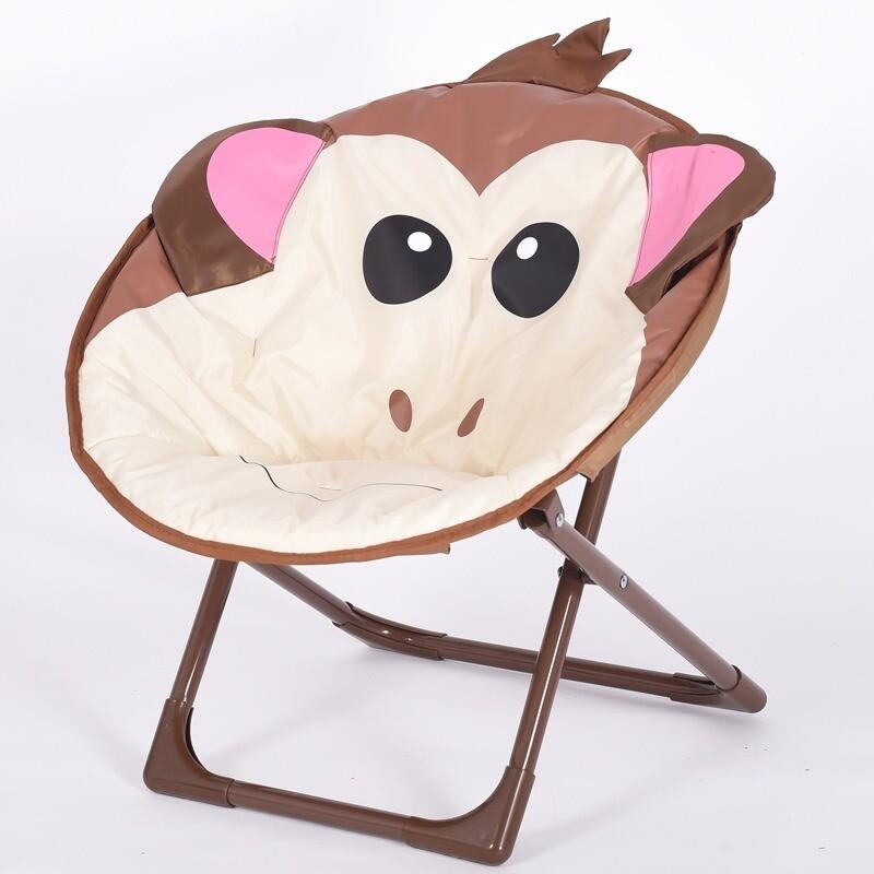 Children cartoon moon chair - Monkey