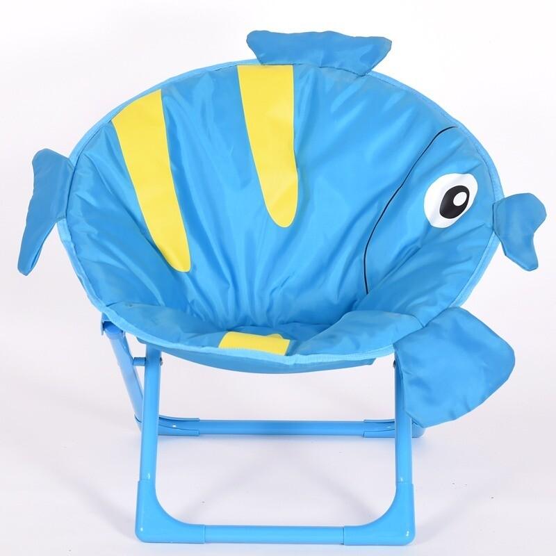 Children cartoon moon chair - Fish