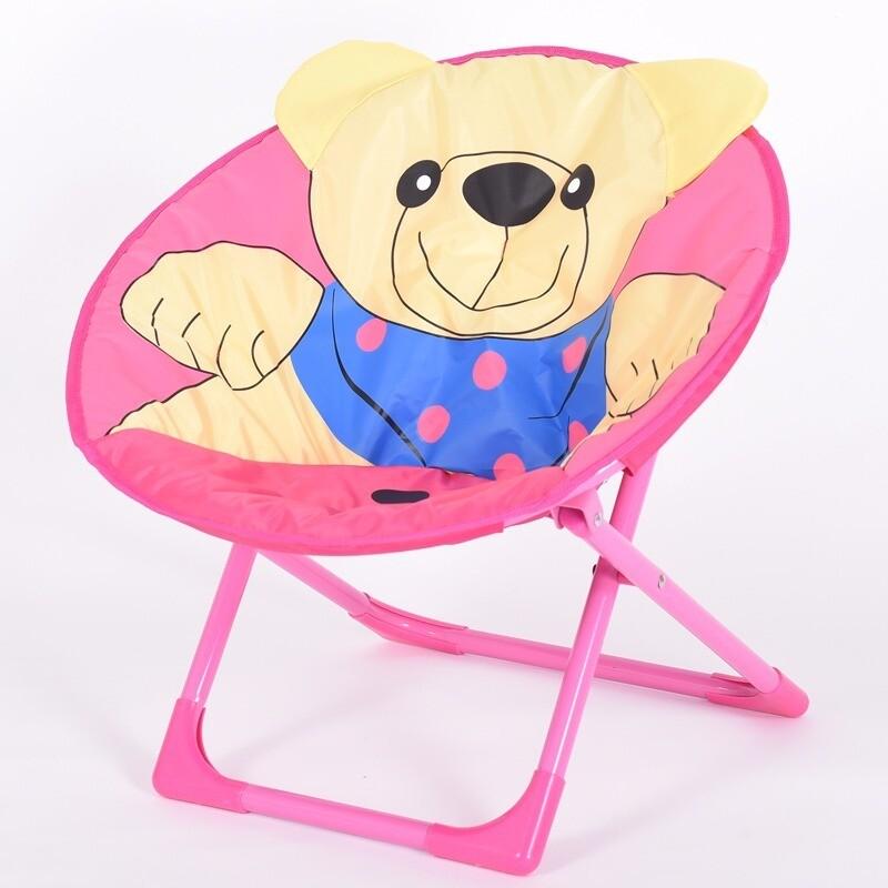 Children cartoon moon chair - Bear
