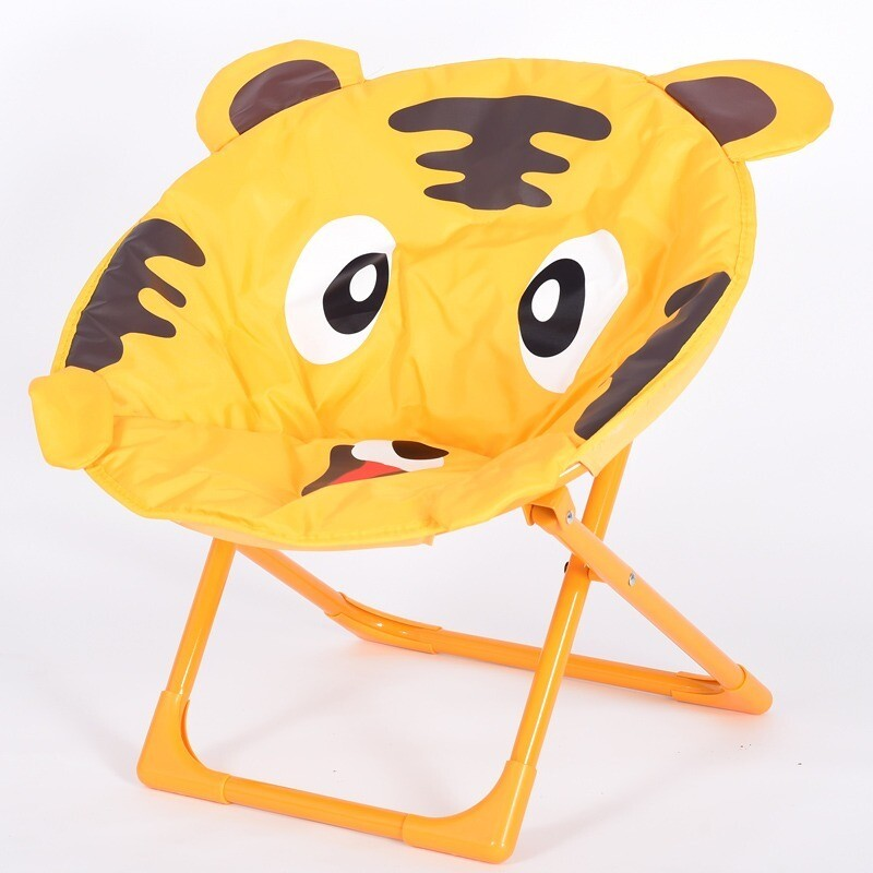 Children cartoon moon chair - Tiger