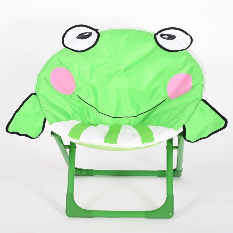Children cartoon moon chair - Frog