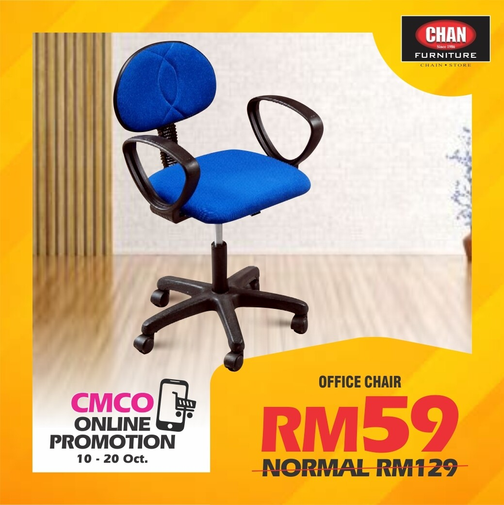 [PRE-ORDER - CMCO ONLINE PROMO] Office Chair with Armrest