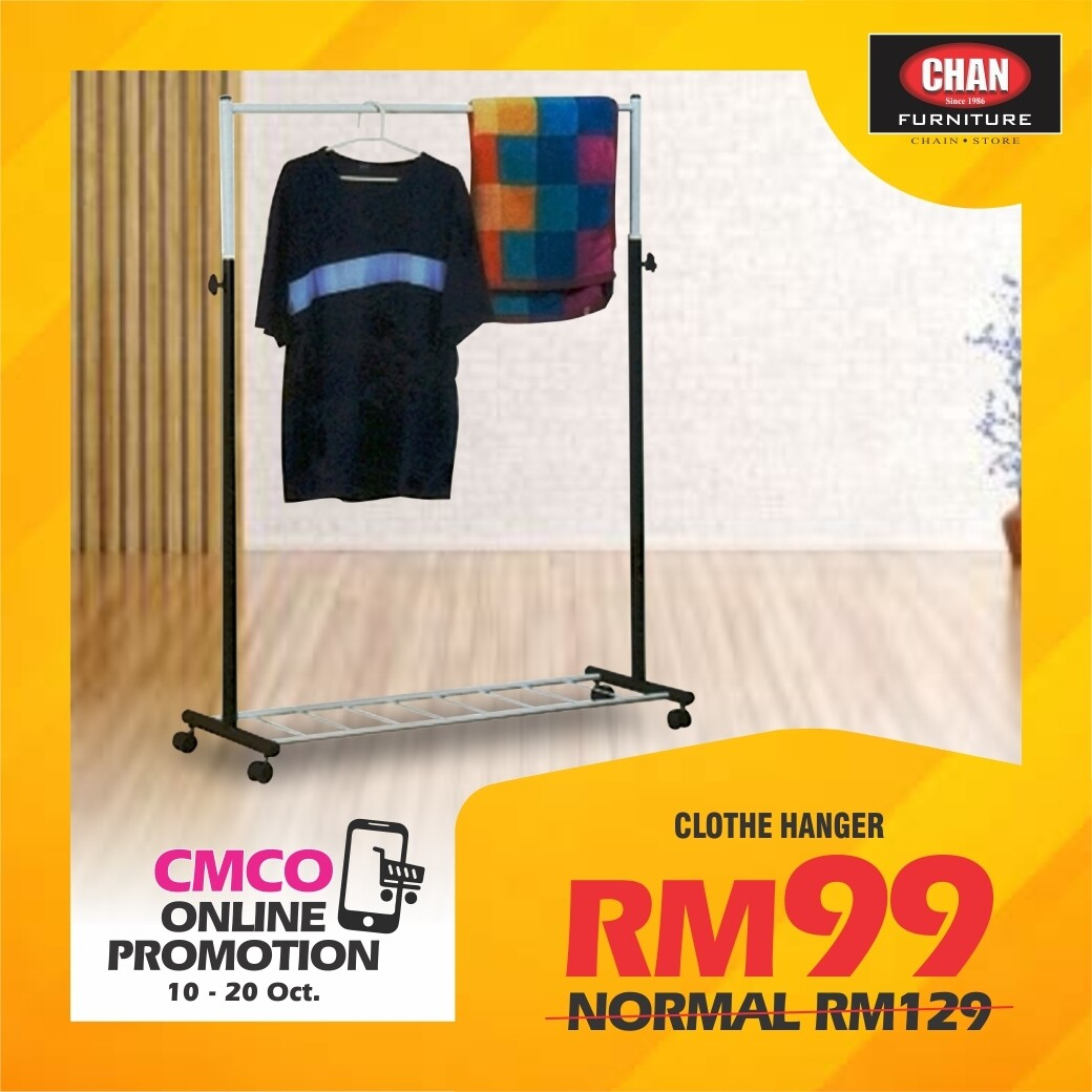 [CMCO ONLINE PROMO] Clothes hanger