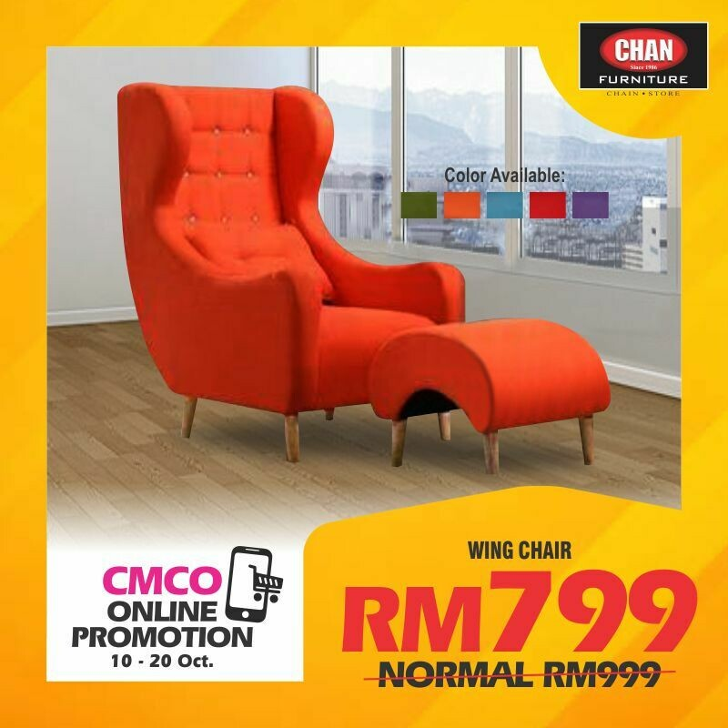 [CMCO ONLINE PROMO] Relax Chair + Stool