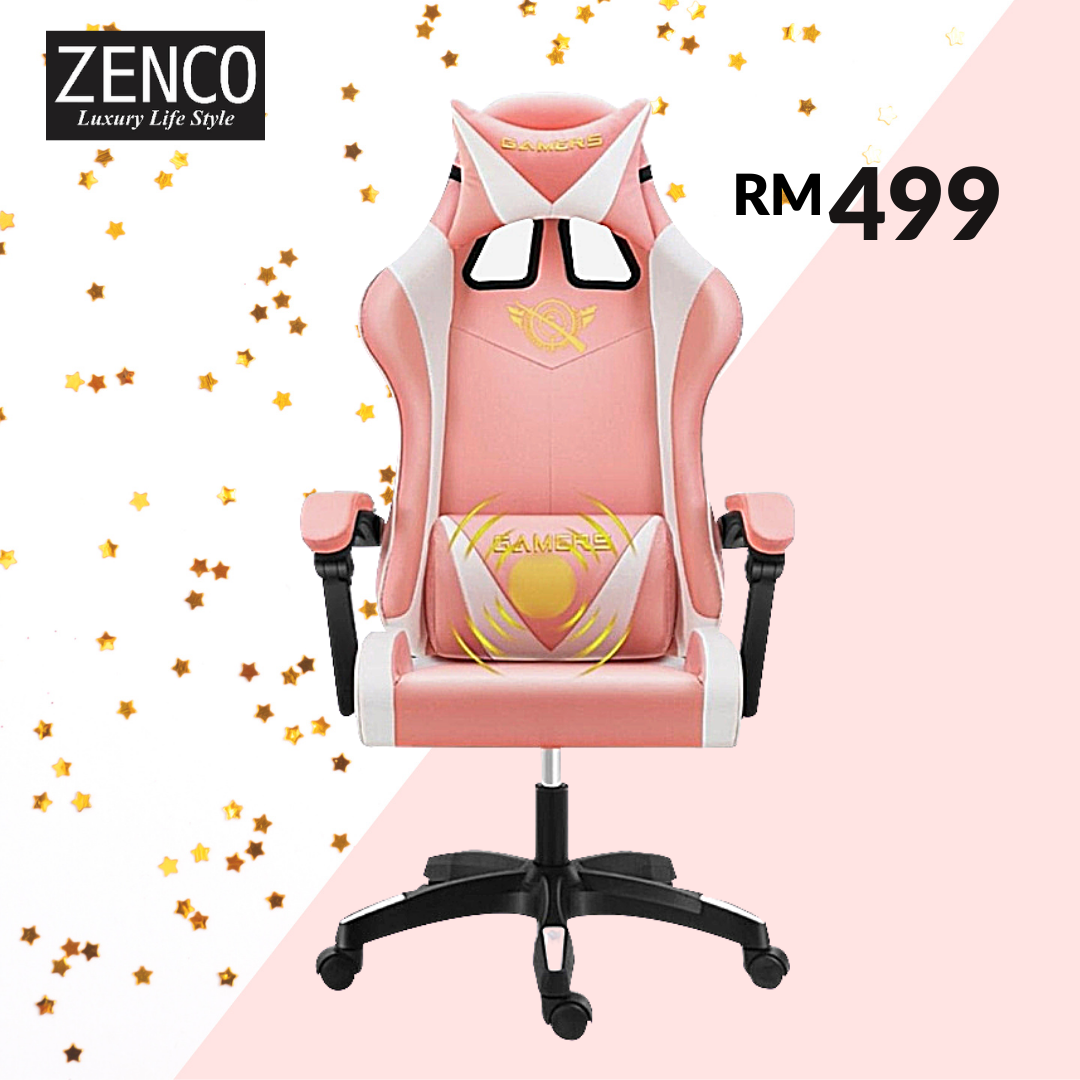 Gaming Chair - Pink