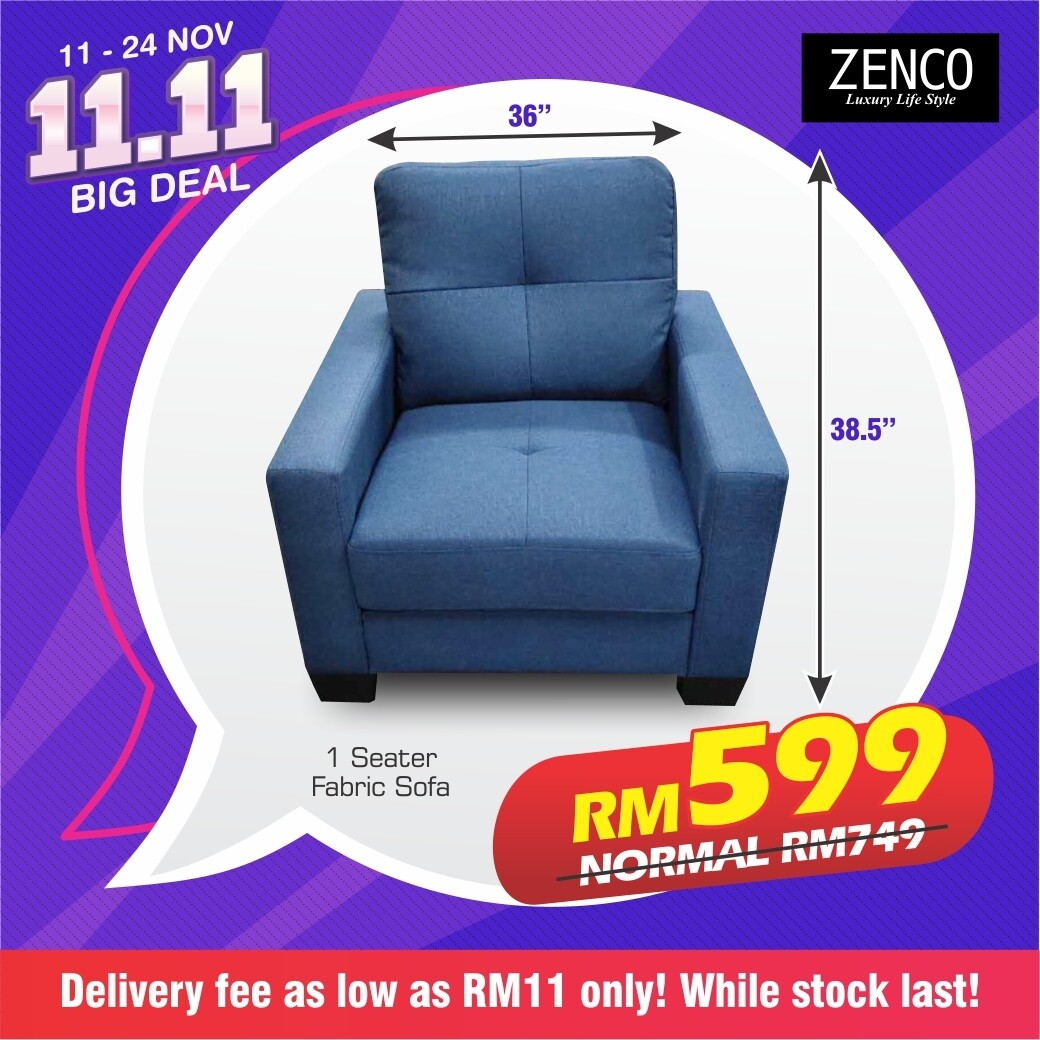 Single Seater Sofa Only