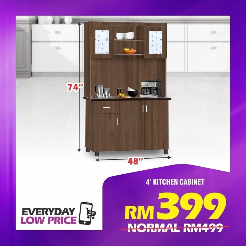 4' Kitchen Cabinet