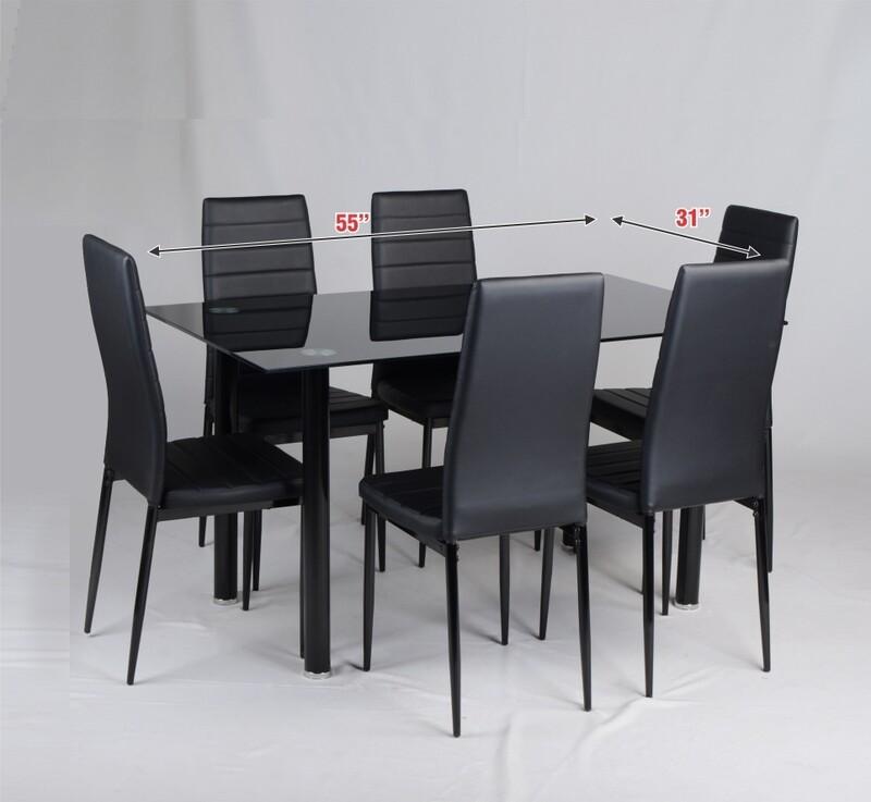 1+6 Dining Set (Sergio)