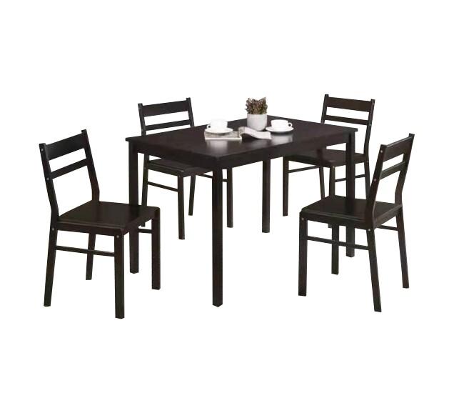 1+4 Wooden Dining Set