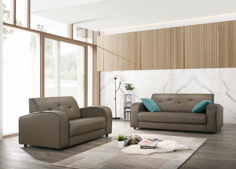 2+3 Seater PVC Sofa Set