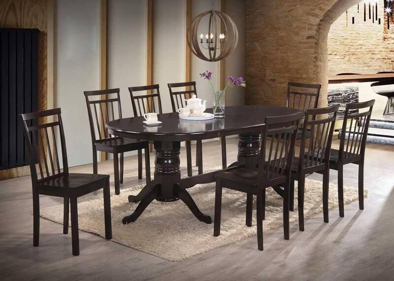 1+8 Wooden Dining Set