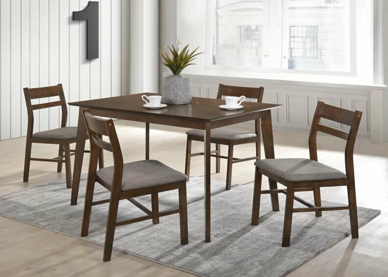 1+6 Wooden Dining Set