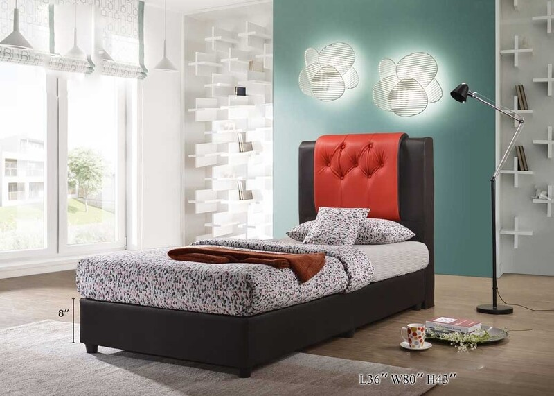 PRE-ORDER] 3ft PVC Single Divan Bed