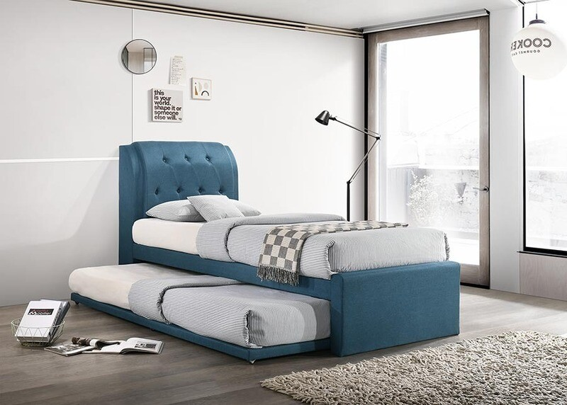 [PRE-ORDER] 3ft Single Size Pull Out Bed Frame (Blue)