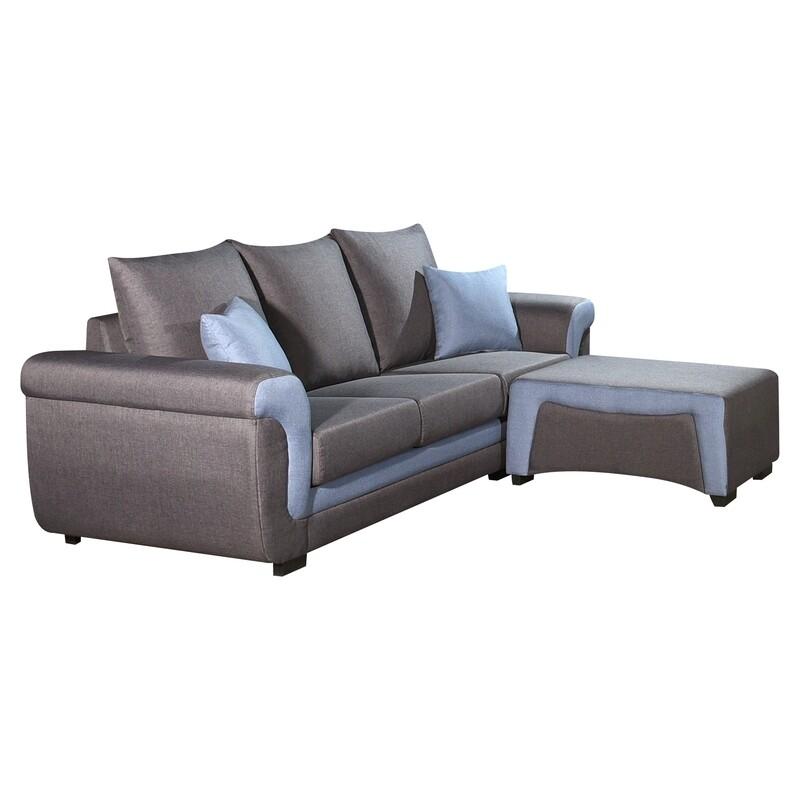 L-Shape Sofa (Brown)