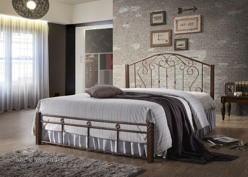 [PRE-ORDER] 5ft Queen Size Metal Bed Frame