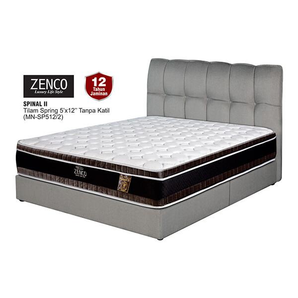 ZENCO 12 inch Spinal II Spring Mattress - Queen