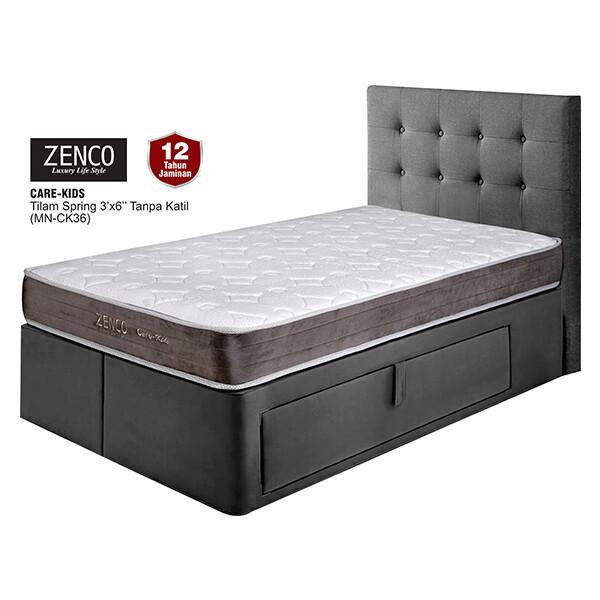 ZENCO 6 inch Care Kid Spring Mattress - Single Size