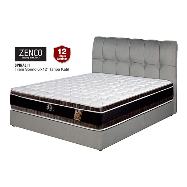 ZENCO 12 inch Spinal II Spring Mattress - King
