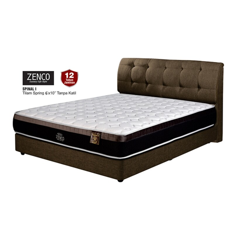 ZENCO 10 inch Spinal II Spring Mattress - King