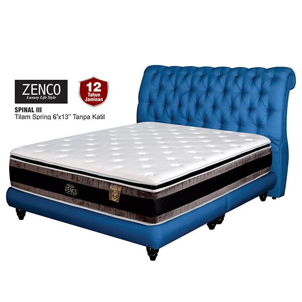 ZENCO 13 inch Spinal III Spring Mattress - King