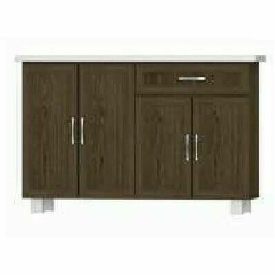 5ft Low Kitchen Cabinet