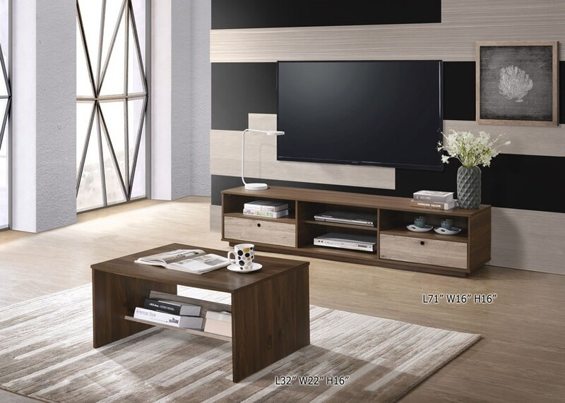 [COMBO] Living Package (6ft TV Cabinet + Coffee Table)