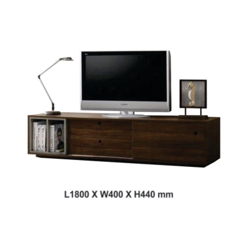 6ft TV Cabinet with slider door