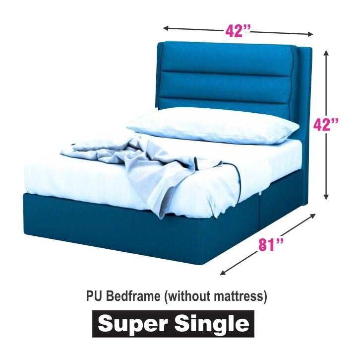 3.5ft Fabric England Bed Frame - Super Single