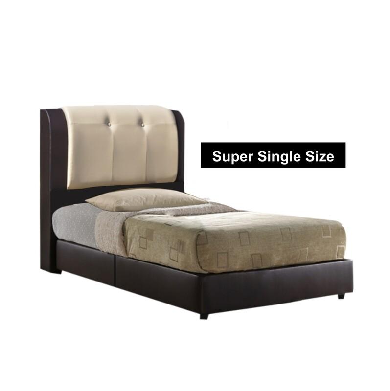 3.5 ft PVC Bed frame - Super Single