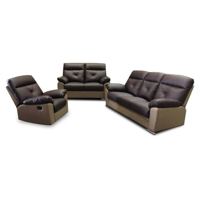 1 Recliner+2+3 Sofa Set