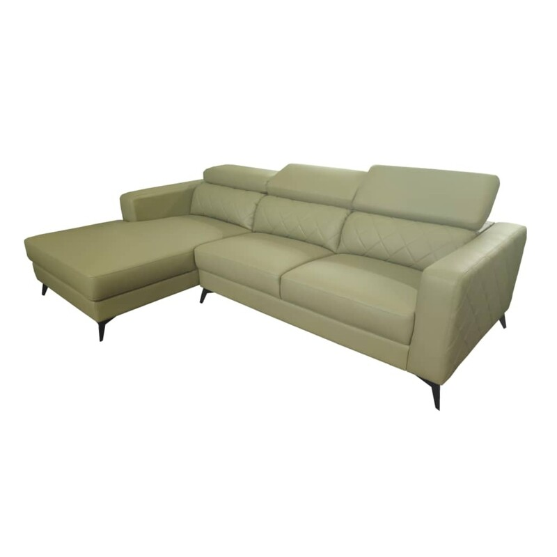 L Shape Sofa Left and Right (Green)