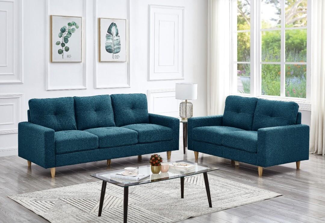 2 + 3 Seater Fabric Sofa Set