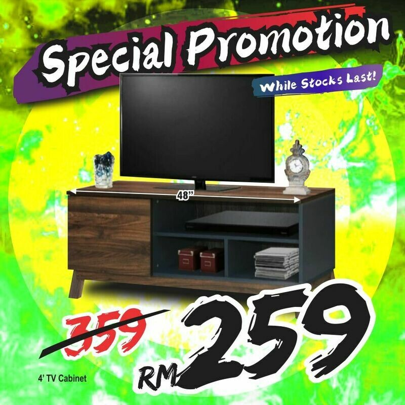 4ft TV Cabinet