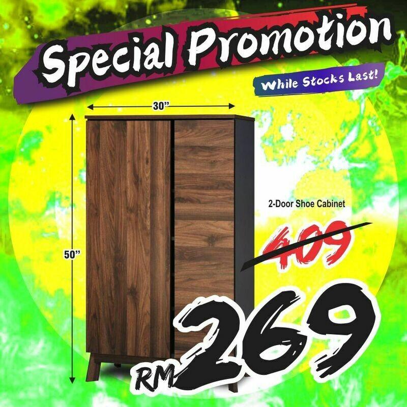 2 Doors Shoes Cabinet