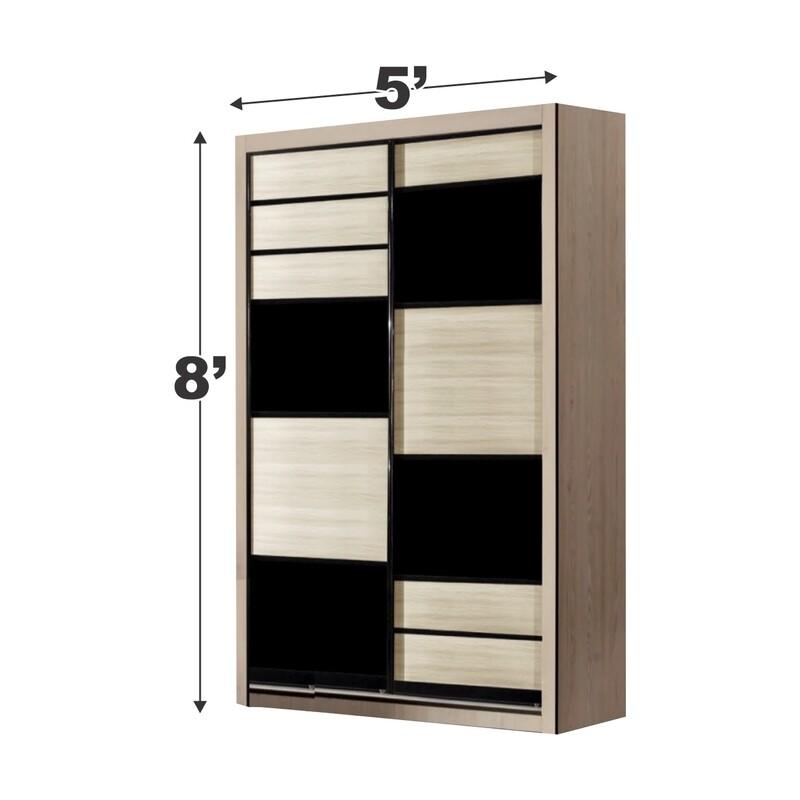5ft x 8ft Sliding Wardrobe