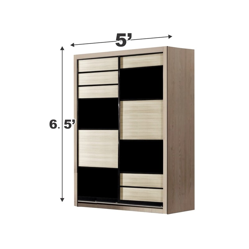 5ft x 6ft Sliding Wardrobe