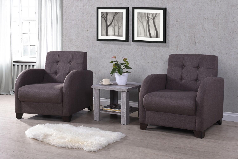 Single Seater Fabric Sofa