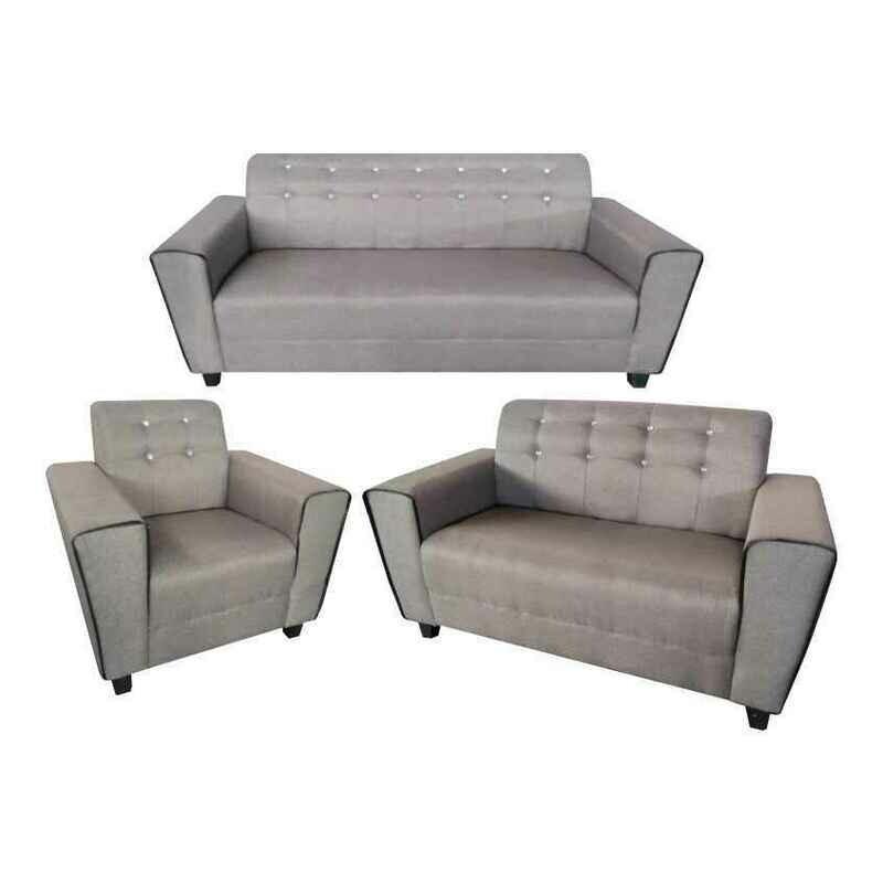 1+2+3 Seater PU Sofa Set