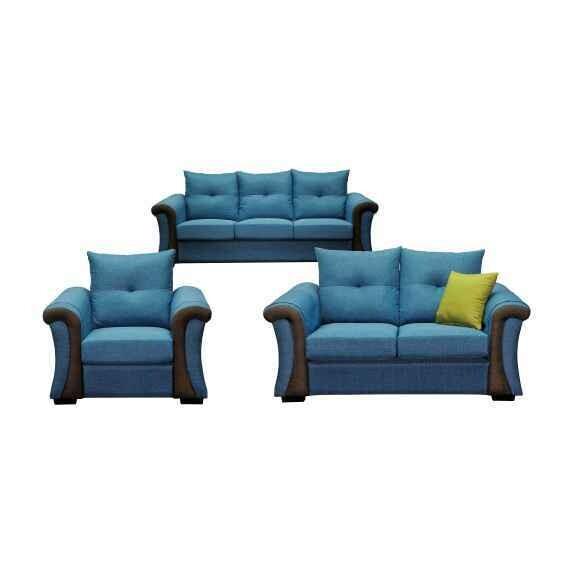 1+2+3 Seater Fabric Sofa Set