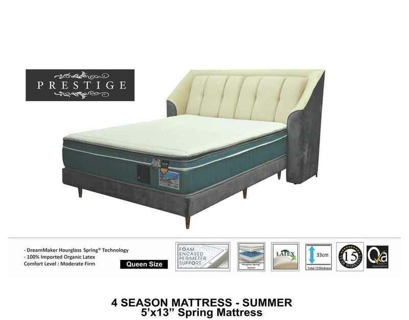 13 inch Summer Spring Mattress - Queen size