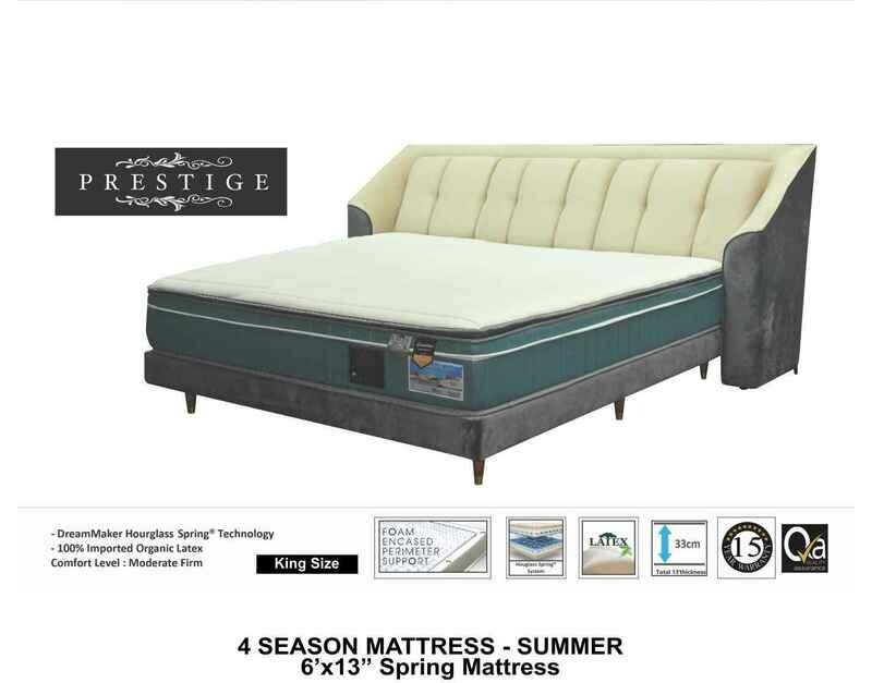 13 inch Summer Spring Mattress - King size