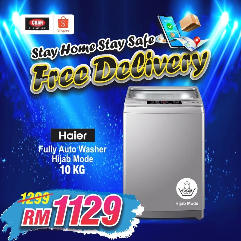 HAIER   10KG Top Load Fully-Auto Washing Machine