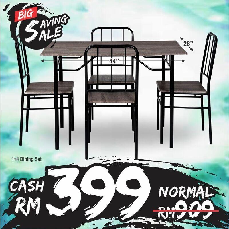 1+4 Dining Set