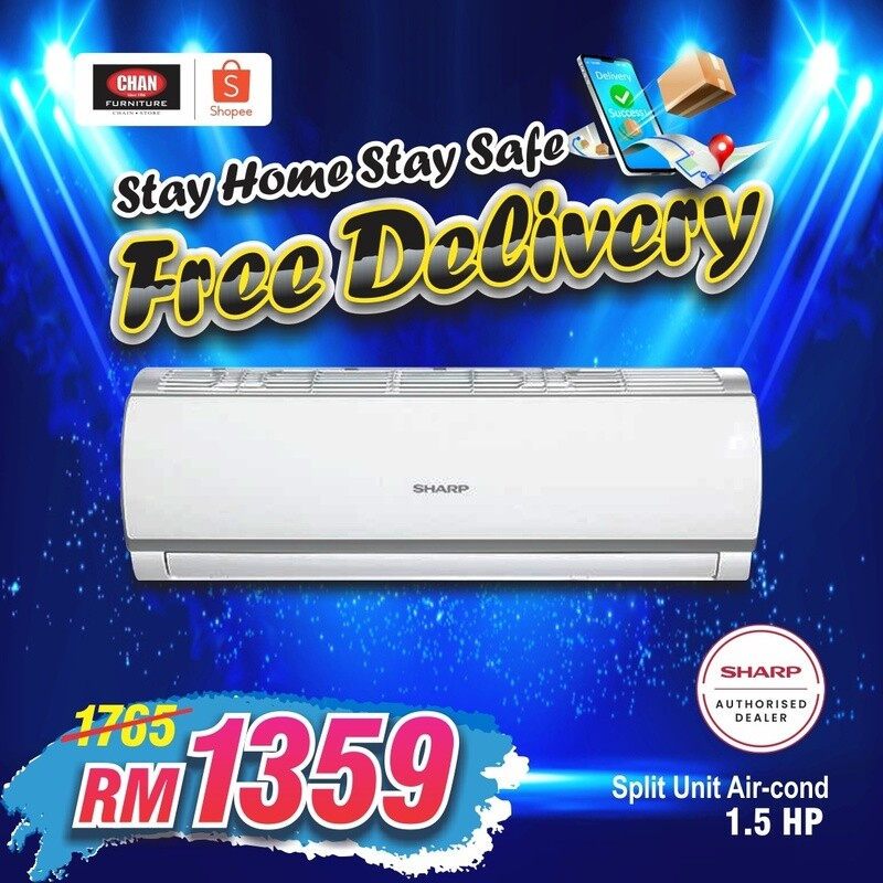 SHARP   1.5hp Air Conditioner