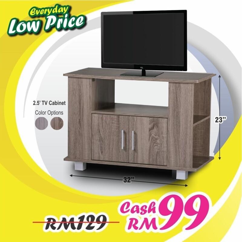 2.5ft TV Cabinet