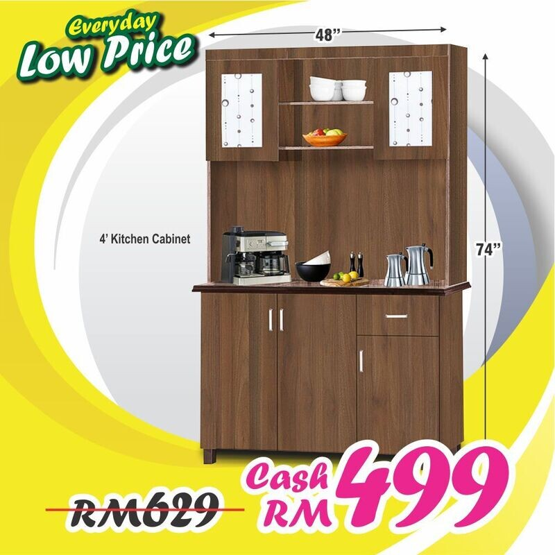 4ft Kitchen Cabinet
