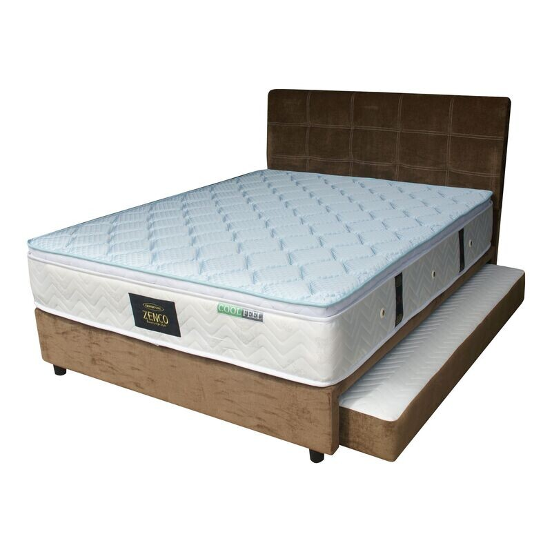 Pull put Bedframe (without mattress) - queen Size + single pull out